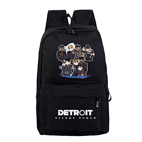 Portable Detroit À Become Human Unisexe École Hommes Dos Ordinateur N Jeu Bandoulière Sac Sjymkyc Étudiant ZwHqdOq