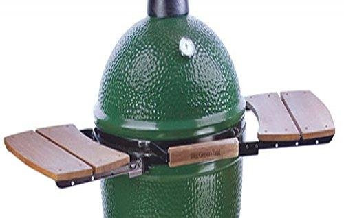 Wooden Shelves EGG Mate for Extra Large (XL) Big Green Egg - EGG (2 shelves) Official Big Green Egg Grill & Smoker Accessories Are A Must For Big Green Egg Users.