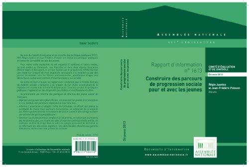 Rapport d'information sur l'évaluation des politiques publiques en faveur de la mobilité sociale des jeunes (French Edition)