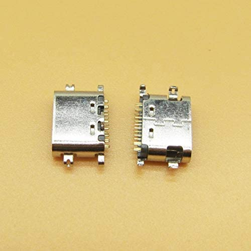 Gimax 10pcs USB 3.1 Type C Connector 16 Pin Female SMT Tab jack Version Socket For Ulefone Power 5 MTK6763 Octa Core 6.0
