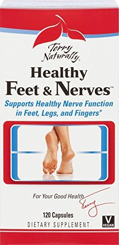 Amazon.com : Terry Naturally Healthy Feet and Nerves 120 caps by ...