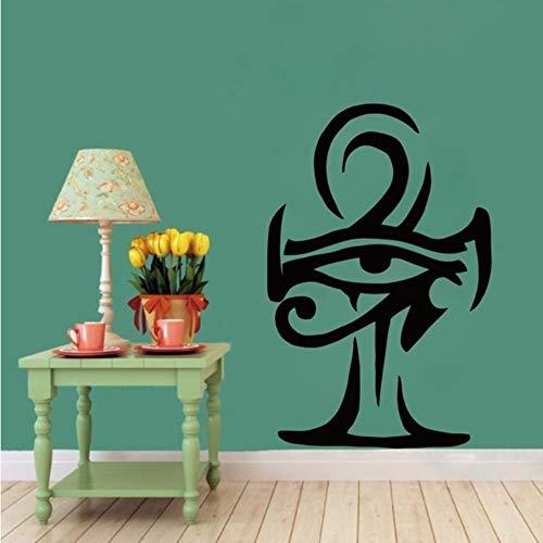 Dalxsh Egypt Decals Egyptian God Pharaoh Cat Wall Sticker Ancient Art Decor - Egyptian Applique