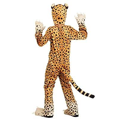 Kids Cheerful Cheetah Costume - XL Beige: Clothing