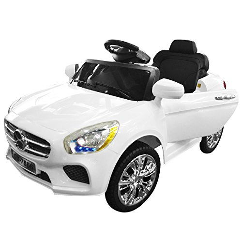 Buy Cheap Costzon 6V Kids Ride On Car RC Remote Control Battery Powered w/ LED Lights MP3 White