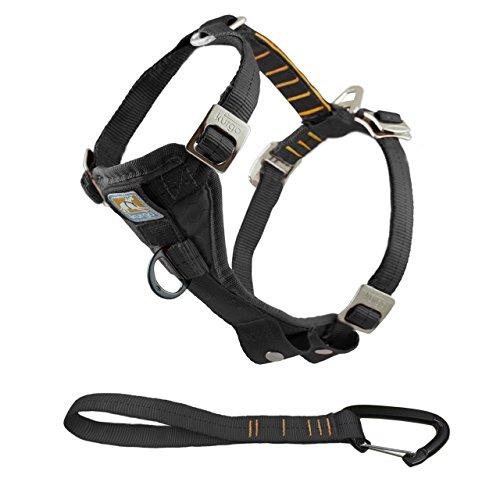 Harness Travel Dog (Kurgo 1258 Tru-Fit Crash Tested Dog Harness, Large, Black)