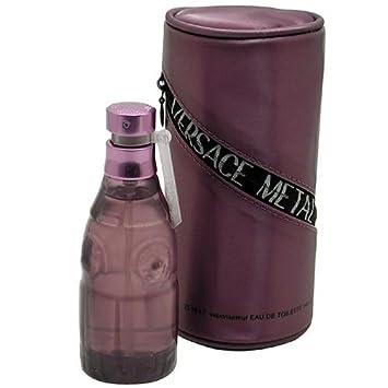Metal Jeans By Versace For Women. Eau De Toilette Spray 2.5 Ounces