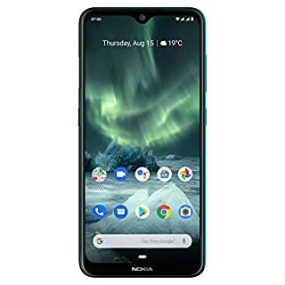 "Nokia 7.2 - Android 9.0 Pie - 128 GB - 48MP Triple Camera - Unlocked Smartphone (AT&T/T-Mobile/MetroPCS/Cricket/Mint) - 6.3"" FHD+ HDR Screen - Green - U.S. Warranty, Model:TA-1178"