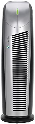CISNO HEPA Air Purifier, 3-in-1 True HEPA Filter, Smoke Dust Pet Dander Smell Remover, Home Bedroom Office Air Filtration, Quite and Optional Night Light, US-120V