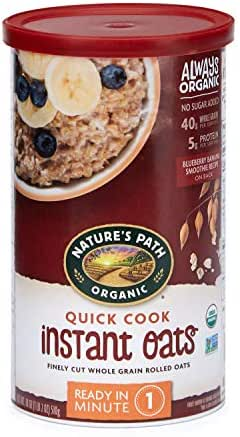 Oatmeal: Nature's Path Quick Cook Instant Oats