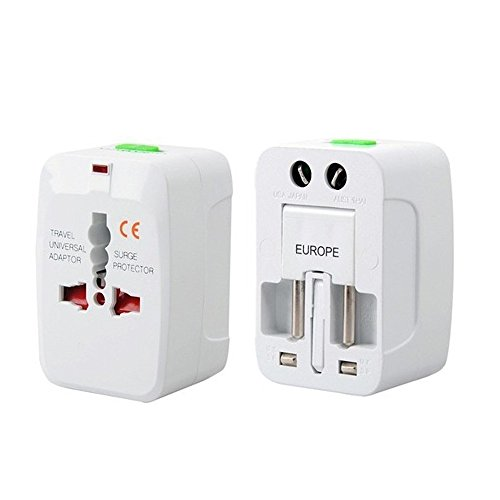 Price comparison product image Orcbee  _EU AU UK US to Universal World Travel AC Power Plug Convertor Adapter Socket White