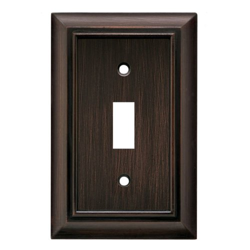 BRAINERD 64241 Architectural Single Toggle Switch Wall Plate / Switch Plate / Cover vbr by Brainerd