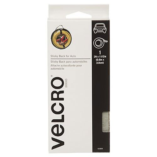 Molded Hook Tape - VELCRO Brand - Sticky Back for Auto - 2' x 1 1/2