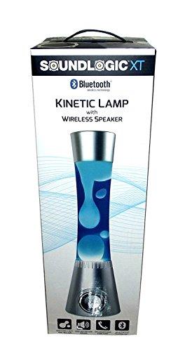 SoundLogic Lava Lamp Bluetooth Speaker (Blue)