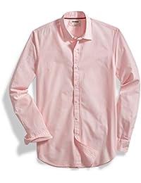 "<span class=""a-offscreen"">[Sponsored]</span>Men's Slim-Fit Long-Sleeve Solid Poplin Shirt"