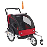 Aluminum Alloy Frame Baby Stroller with 20inch Wheel Fold Bike Trailer Children Bicycle