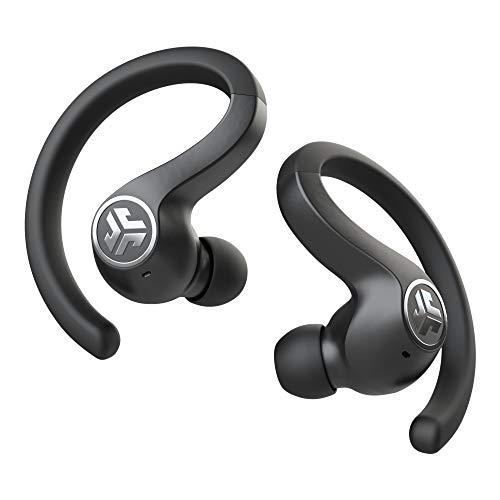 JLab JBuds Air Sport True Wireless Bluetooth Earbuds + Charging Case – Black – IP66 Sweat Resistance – Class 1 Bluetooth…