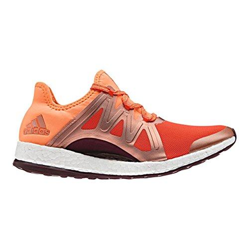 adidas Pureboost Xpose, Chaussures de Course Femme, Orange (Arancione Energi/Narbri/Granat), 42 EU
