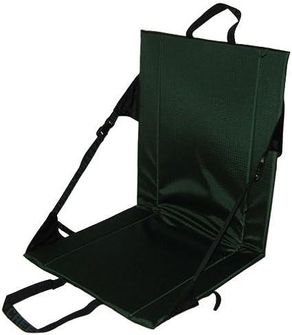 Black Crazy Creek Hex 2.0 LONGBACK Original Lightweight Packable Hiking Chair