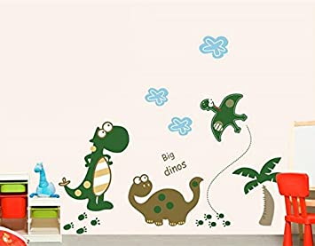 U0026quot; Dinosaur Premium Wall Stickers   Removable And Repositionable For Part 60