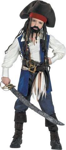 Captain Jack Dlx Disney Child 4-6