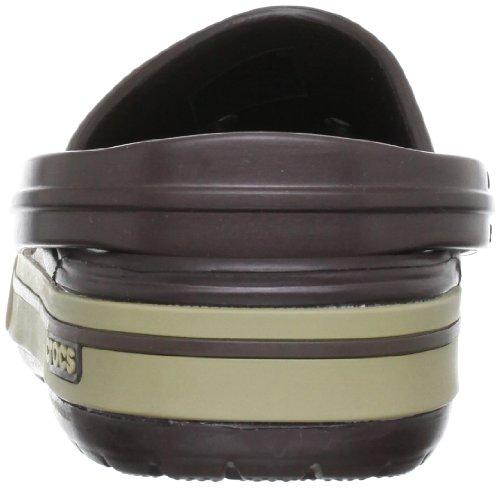 Clog Espresso Adulte II Sabots Marron Khaki Crocband 5 Crocs Mixte wxAqCwTt4