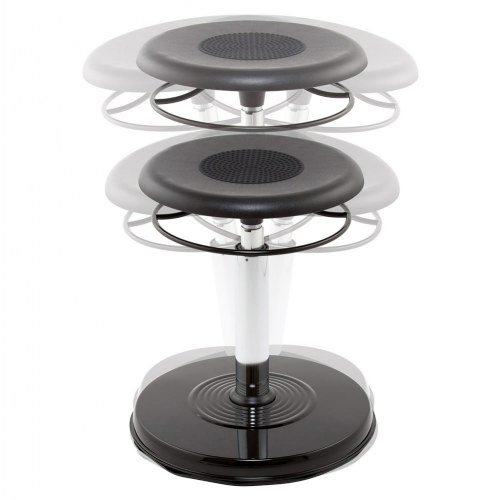 Kore Patented Adjustable height Wobble Stool by Kore Design