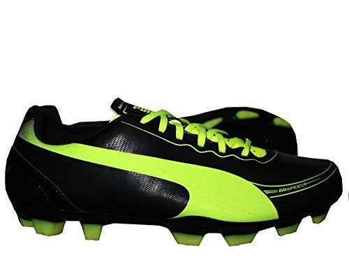 Puma Fg 5 Football Noir Chaussures De jaune 2 Evospeed 36 5 Taille Junior aYfqawr