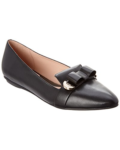 Taryn Rose Para Mujer Edith Loafer Flat Black Calf