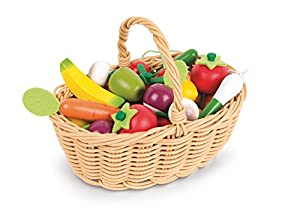 Marvelous Janod Fruits U0026 Vegetable Basket (24 Piece)