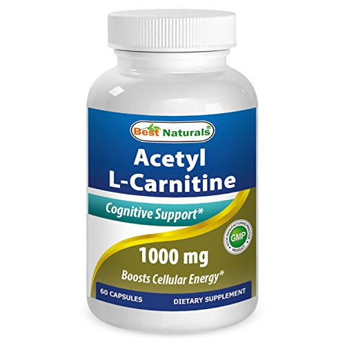Cheap Best Naturals Acetyl L-Carnitine 1000mg Capsule, 60 Count