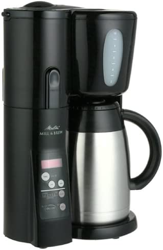 Amazon.com: Melitta memb10tb Molino & Brew Cafetera: Kitchen ...