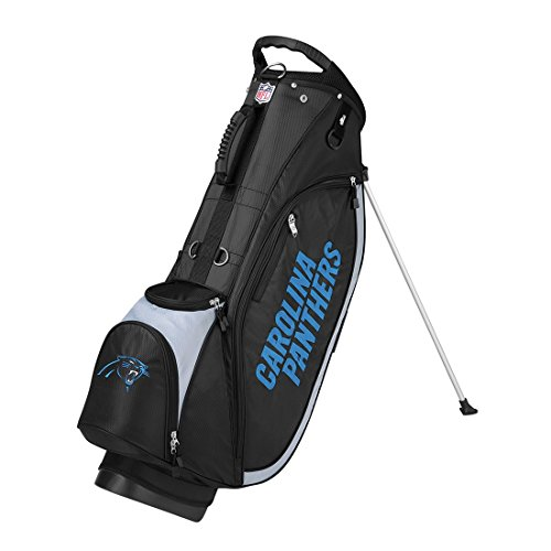 Wilson NFL Carolina Panthers Carry Golf Bag, Black/Grey, One ()