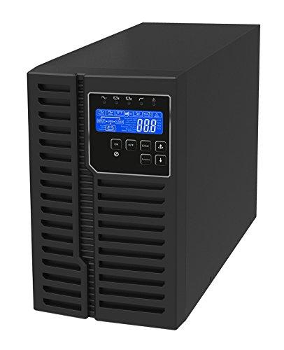(1 kVA / 900 Watt Digital Tower Battery Backup UPS and Power Conditioner for Sensitive Electronics (Internal Batteries) )
