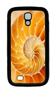 Samsung S4 Case,VUTTOO Cover With Photo: Abstract Swirl For Samsung Galaxy S4 I9500 - TPU Black