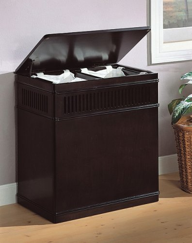 wooden clothes hamper furniture