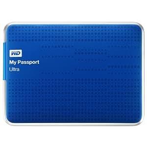 "Western Digital My Passport Ultra - Disco duro externo de 2 TB (5400 rpm, USB 3.0, 2.5""), azul"