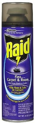 Raid Flea Killer Plus, Carpet and Room Spray-16 oz. from Raid Flea Killer Plus, Carpet and Room Spray - 16 Oz