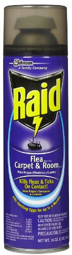 Raid Flea Killer Plus, Carpet and Room Spray-16 oz. (Killer Spray Flea)