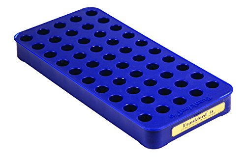 Frankford Arsenal Perfect Fit Reloading Tray for Convenient 50 Round Brass Storage, #4s
