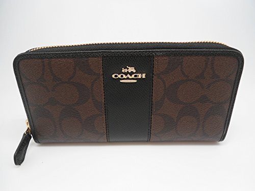 Coach Womens Wallet Signature Leather