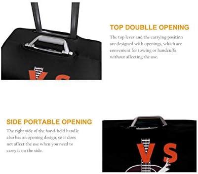 スーツケースカバー キャリーカバー エルビスプレスリー ラゲッジカバー トランクカバー 伸縮素材 かわいい 洗える トラベルダストカバー 荷物カバー 保護カバー 旅行 おしゃれ S M L XL 傷防止 防塵カバー 1枚