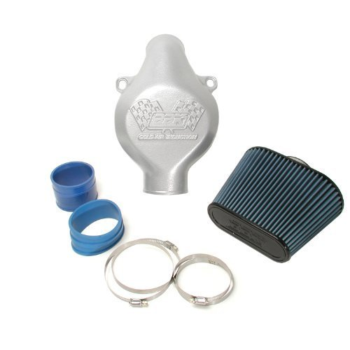 BBK 1726 Cold Air Intake System - Power Plus Series Performance Kit For C5 Corvette Titanium Silver Powder Coat Finish by BBK Performance