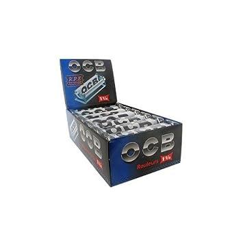 Ocb 78mm Rolling Machine Black White Pack Of 10