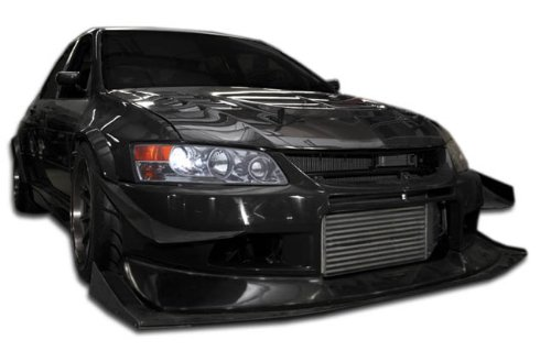 Duraflex Replacement for 2006-2008 BMW 3 Series E90 4DR R-1 Front Bumper Cover - 1 Piece