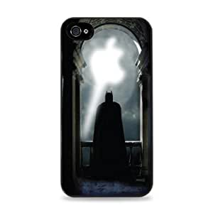 128 Apple Bat Signal Apple iPhone 5 Silicone Case - Black