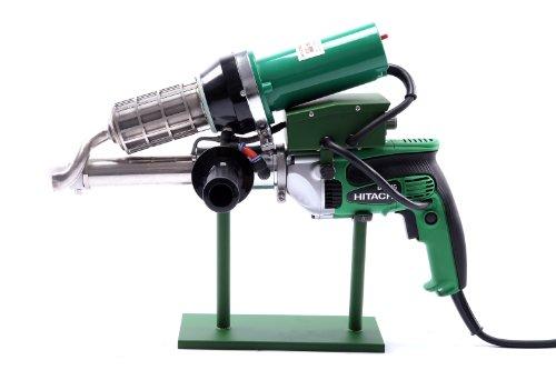 New Practical 3400W Handheld Plastic Extrusion Welding Machine kit Hot Air Plastic Welder Gun Vinyl Weld Extruder Welder Machine