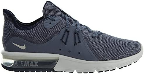 nike men's air max sequent 3 shoe obsidian summit white