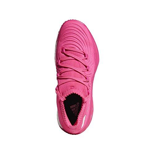 Adidas Pazzo Esplosivo A Basso Scarpa Maschile Di Basket Pinkwhite Shock