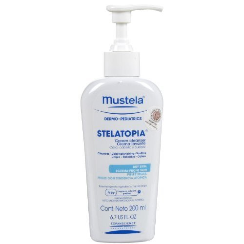 Mustela Stelatopia Crème nettoyante - 6.7 Oz