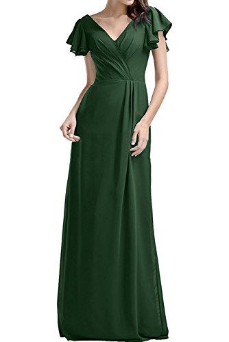 Kleider Damen Braut Gruen Promkleider Chiffon Lila Abendkleider Marie Jugendweihe Langes Brautjungfernkleider La Dunkel xAgzqOwn